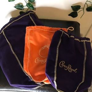 Crown Royal bags